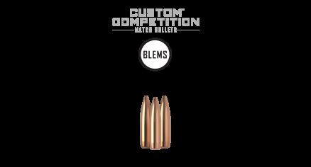 22 Caliber 77gr HPBT Custom Competition (100ct) (BLEM)
