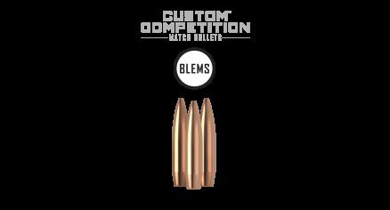 6.5mm 140gr HPBT Custom Competition (100ct) (BLEM)