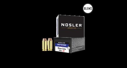 10mm 180gr JHP Match Grade Handgun Ammunition(20ct) (BLEM)