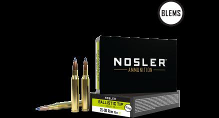 25-06 Remington 115gr Ballistic Tip Hunting Ammunition (20ct) (BLEM)