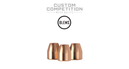 45 Caliber 185gr JHP Custom Competition (250ct) (BLEM)