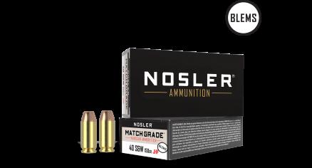 40 S&W 150gr JHP Match Grade Handgun Ammunition(50ct) (BLEM)