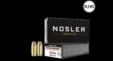 45 ACP 230gr JHP Match Grade Handgun Ammunition(50ct) (BLEM)