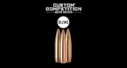 338 Caliber 300gr HPBT Custom Competition (100ct) (BLEM)