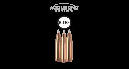 338 Caliber 250gr AccuBond (50ct) (BLEM)