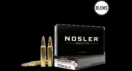 223 Remington 69gr Custom Competition Match Grade Ammunition(20ct) (BLEM)