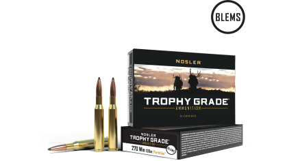 270 Win 130gr Partition Trophy Grade Ammunition(20ct) (BLEM)