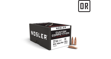 22 Caliber 69gr HPBT Custom Competition (100ct)