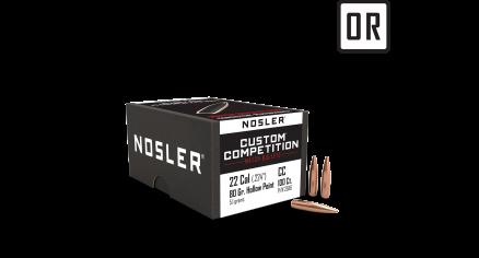22 Caliber 80gr HPBT Custom Competition (100ct)