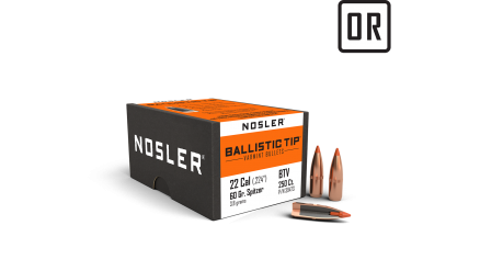 22 Caliber 60gr Cann Ballistic Tip Varmint (250ct)