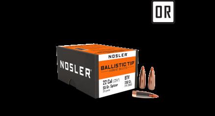 22 Caliber 55gr Ballistic Tip Varmint (250ct)