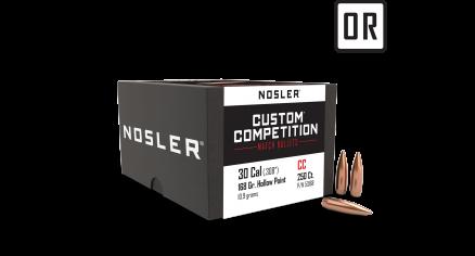 30 Caliber 168gr HPBT Custom Competition (250ct)