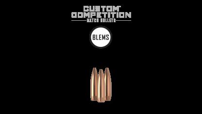 22 Caliber 69gr HPBT Custom Competition (100ct) (BLEM)