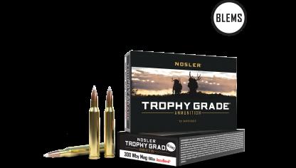 300 Weatherby Mag 180gr AccuBond Trophy Grade Ammunition(20ct) (BLEM)