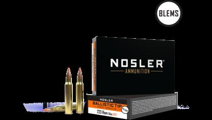 223 Remington 55gr Ballistic Tip Varmint Ammunition(20ct) (BLEM)