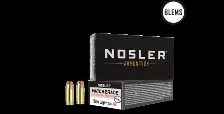 9mm 115gr JHP Match Grade Handgun Ammunition(50ct) (BLEM)