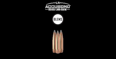 6.5mm 129gr AccuBond Long Range (100ct) (BLEM)